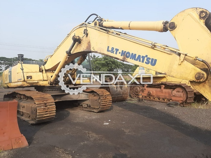 L&T Komatsu PC300 LC Hydraulic Excavators - Power - 242 HP