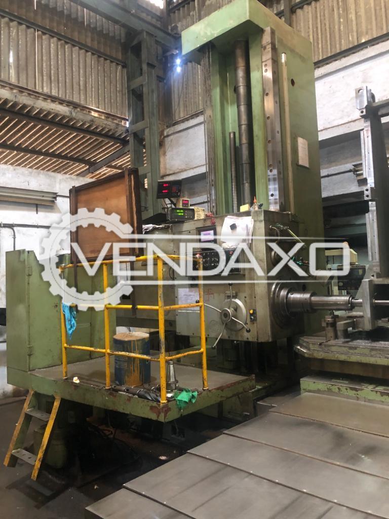 Wotan Make Boring Machine - Spindle Diameter : 130 mm