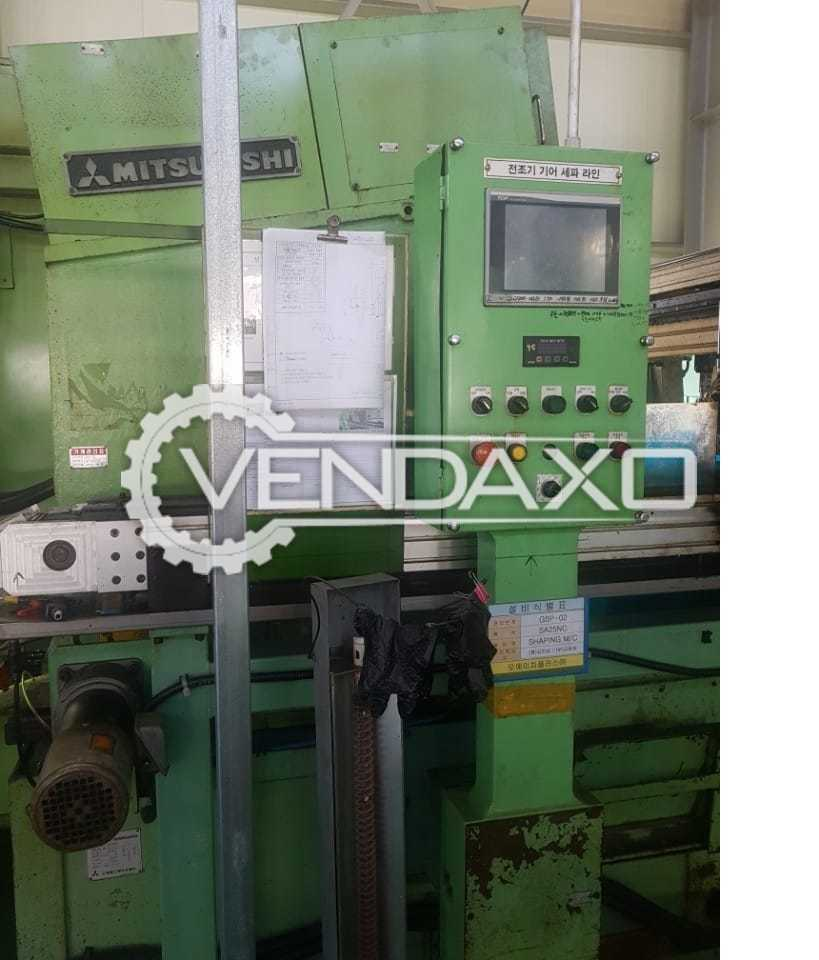 Mitsubishi Make Gear Shaping Machine - Diameter : 250 mm