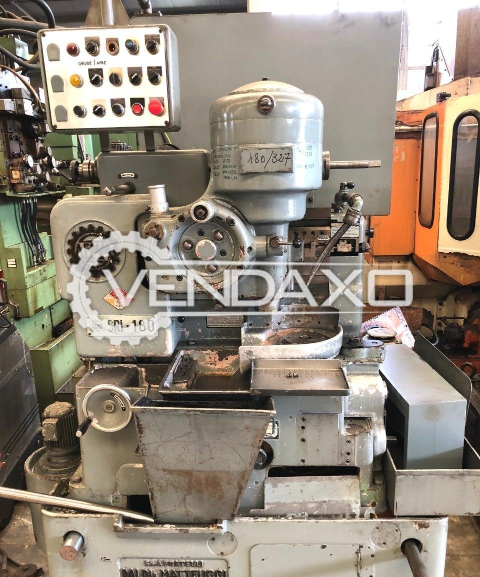 Demm SRI 180 Gear Shaper Machine - Max. Gear Diameter : 180 mm