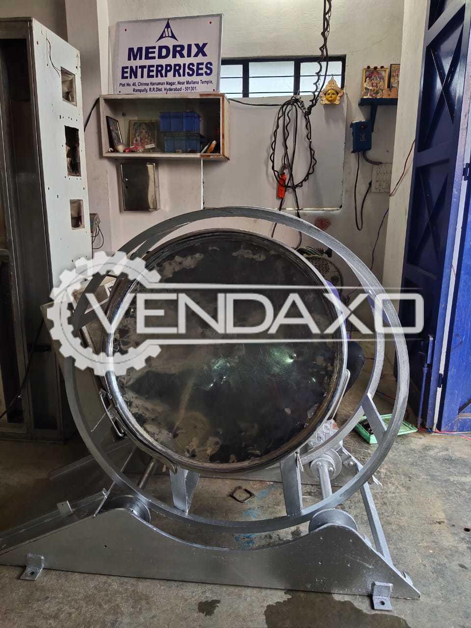Indian Make Drum Blender - 200 Liter