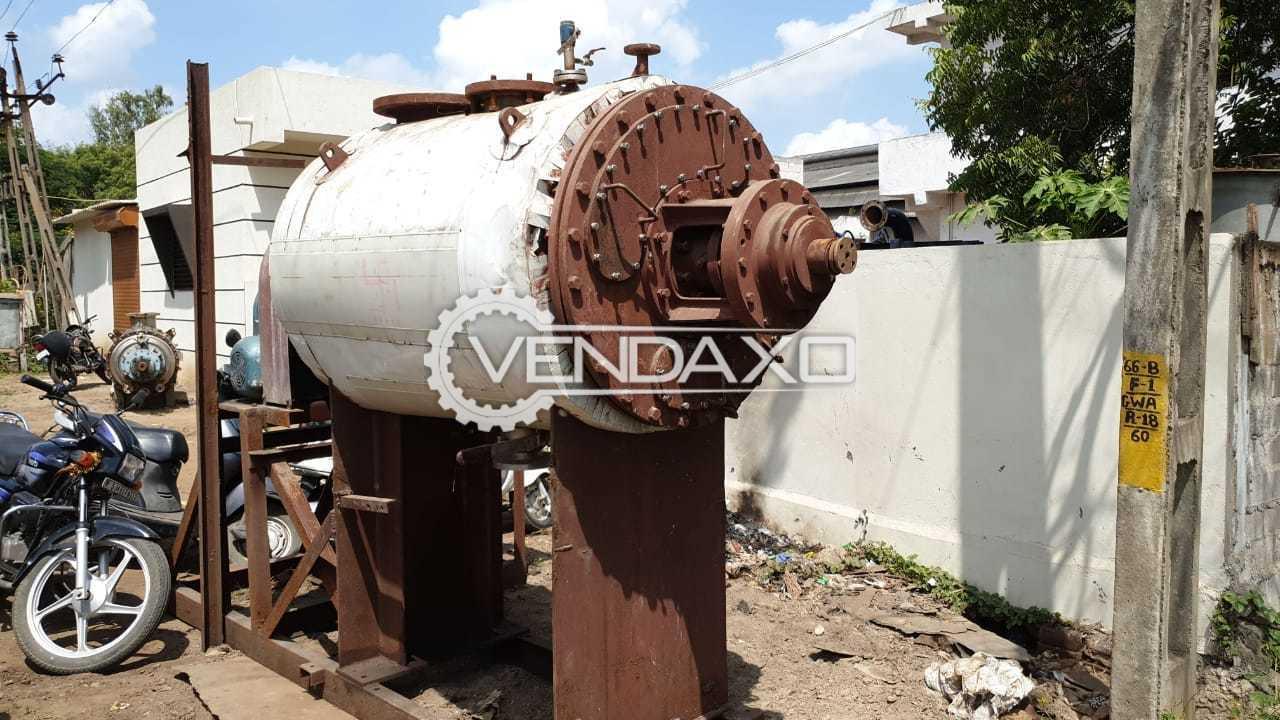 Rotary Vacuum Dryer (RVD) - 800 Liter