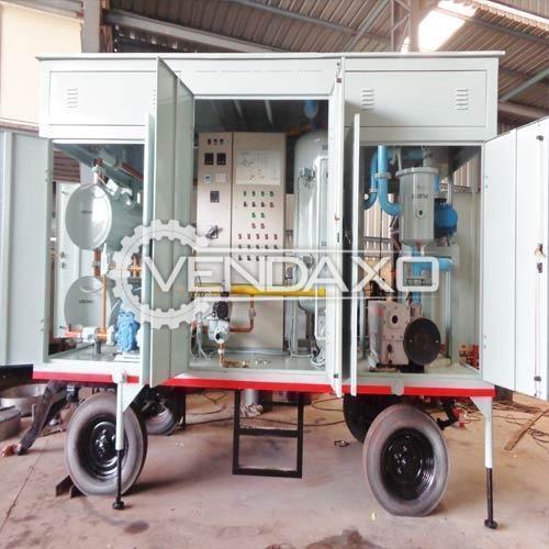 ALG Make Transformer Oil Filtration Machine - 12 KL, 2017 Model