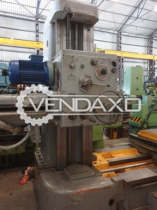 TOS W100 H Boring Machine - Spindle Size - 100 mm