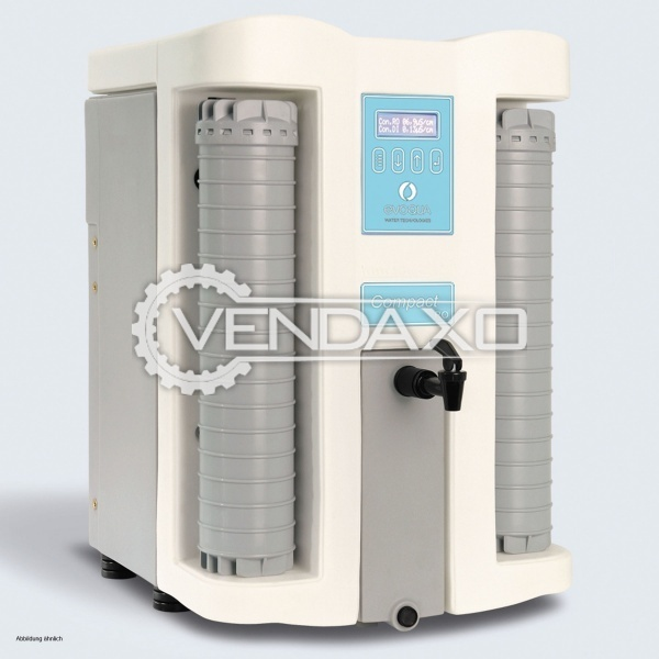 Siemens Evoqua SG Series DI or DM Water Unit - 5 Liter Per Hour