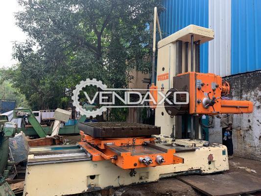 Wotan Make Horizontal Boring Machine - Table Size : 1400 x 1240 mm