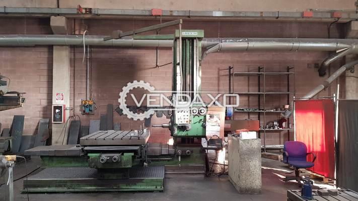 Maxima Make Horizontal Boring Machine - Table Size : 1500 x 1250 mm