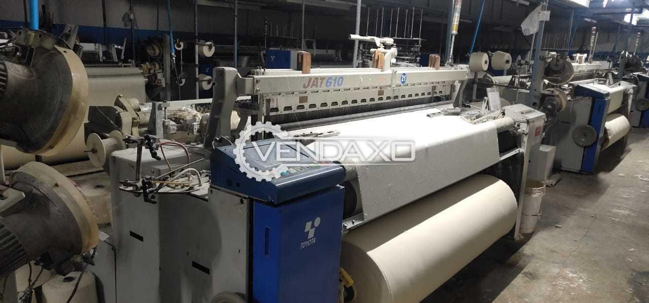 Toyota Jat 610 Weaving Loom Machine - Width - 190 Cm