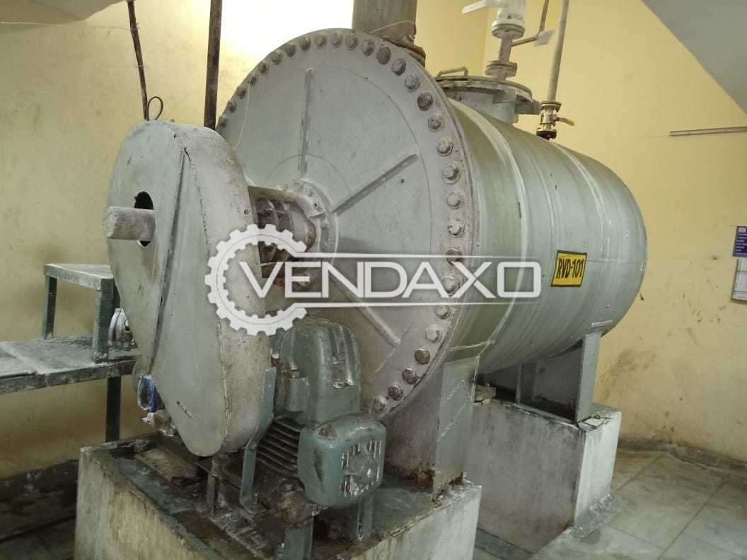 Dalal Engineering SS316 Rotary Vacuum Paddle Dryer (RVPD) - 2.5 KL