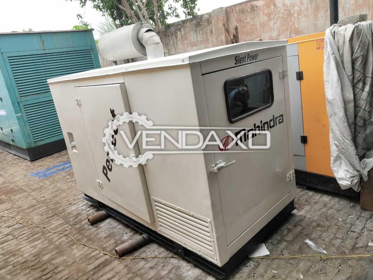 Mahindra Diesel Generator - 25 kVA, Single Phase - 2006 Model