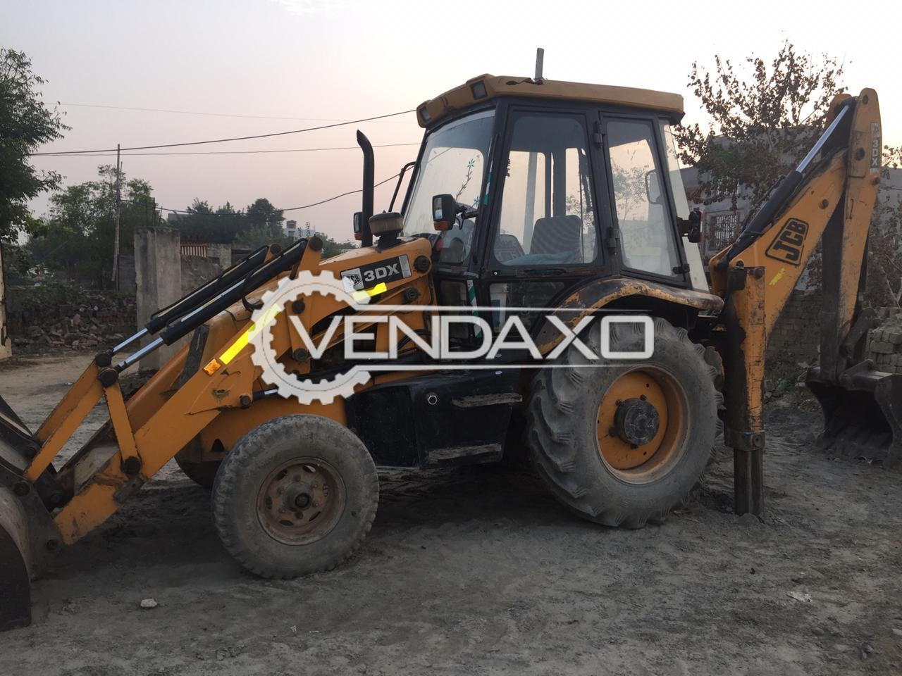 JCB 3DX Backhoe Loader - Motor Power - 76 HP