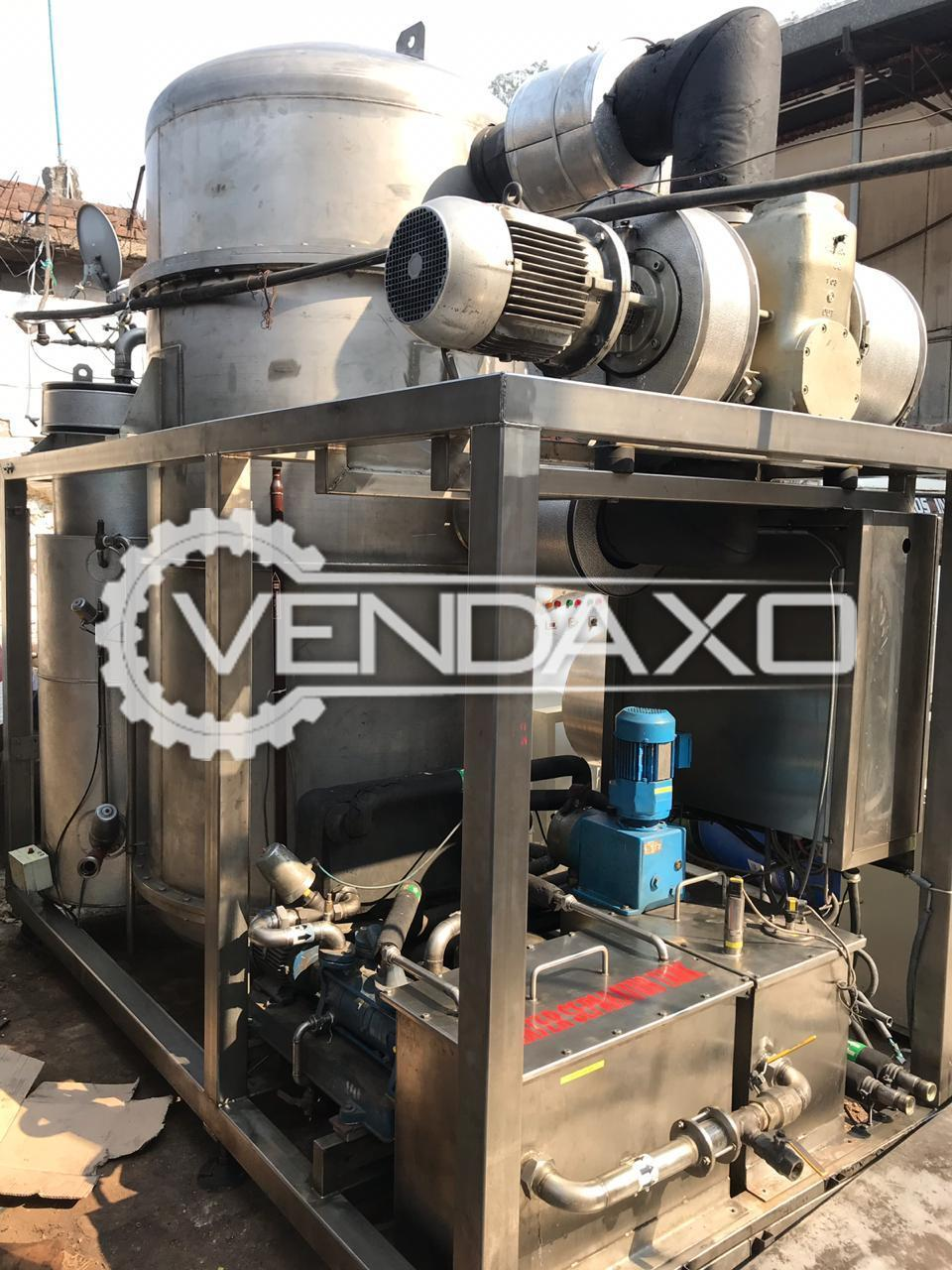 Available For Sale Vacuum Molecular Distillation Plant