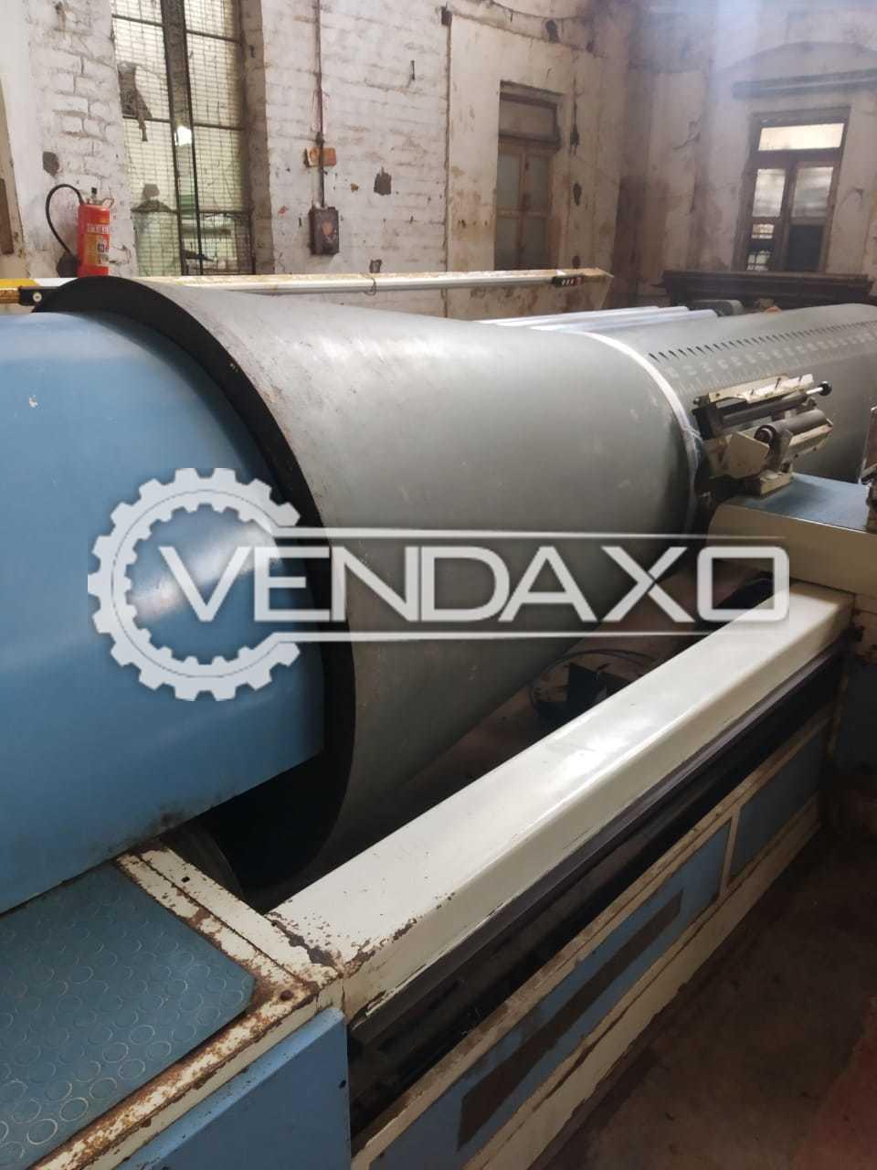Prashant Gamatex ESP-508 Sectional Warping Machine - Size - 2200 mm