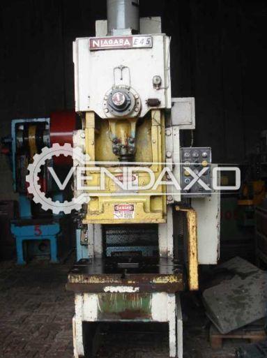Niagara PYE45 Power Press - 45 Ton