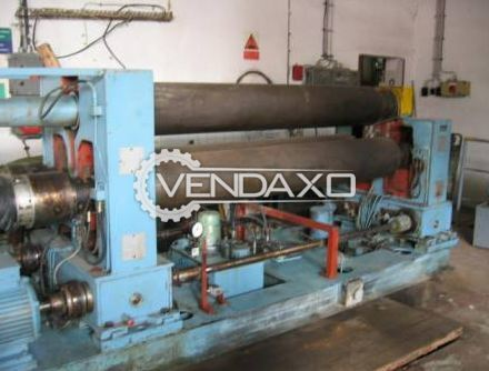 TOS W12 Roll Bending Machine - 1240 mm x 3 Rolls