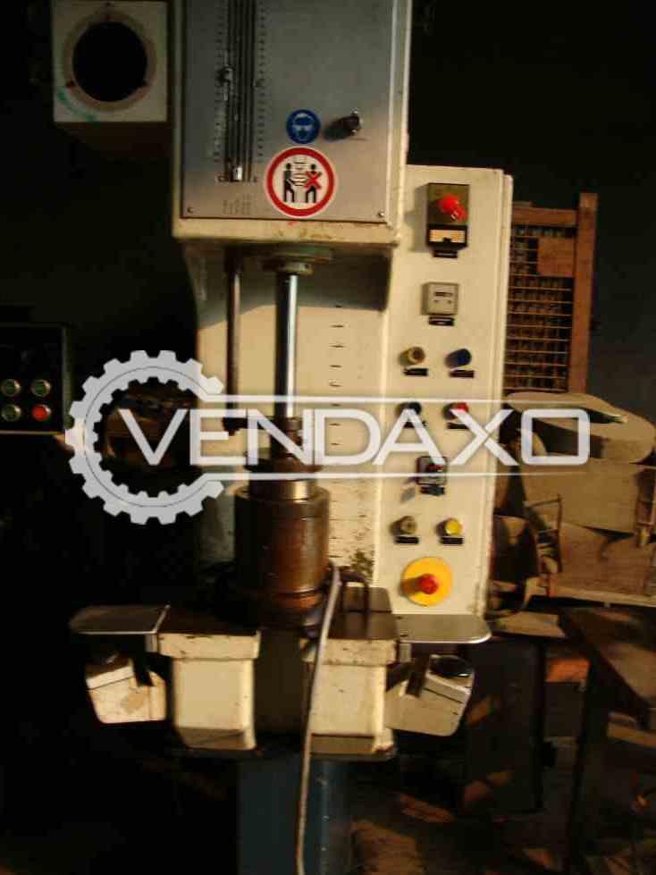 DUNKES Hydraulic Press - 500 x 400 mm