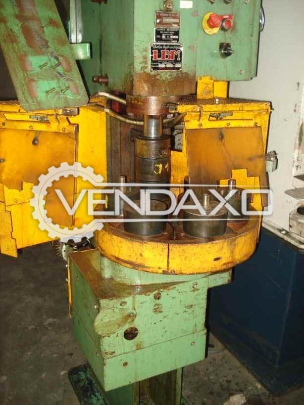 LBM Hydraulic Power Press - 20 Ton