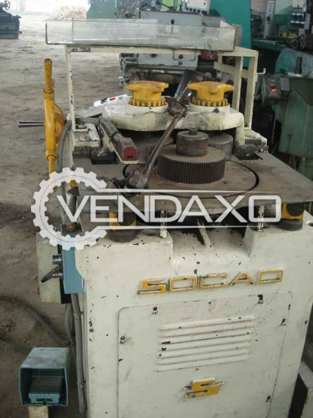 SOCAO Section Bending Machine - 100 MM X 15 MM