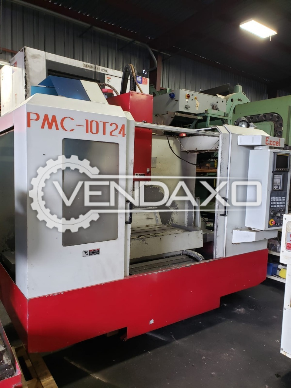 Excel PMC-10T24 CNC Vertical Machining Center - VMC - Table Size : 1100 x 500 mm