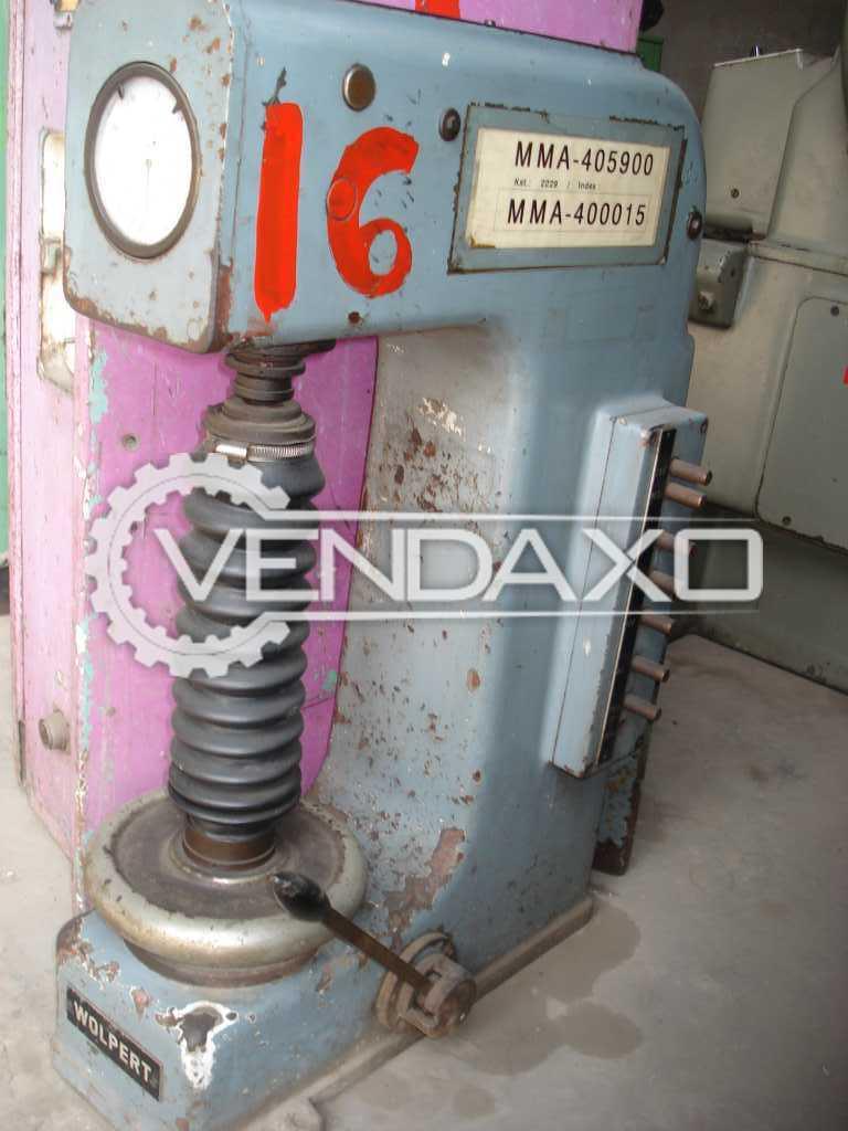 WOLPETWERKE HB2AOTTO Harding Tester Machine - 250 mm