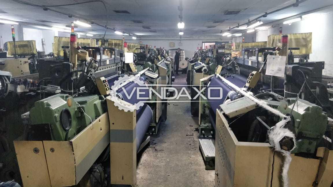 24 Set OF Picanol Gama Rapier Loom Machine - Width - 190 CM