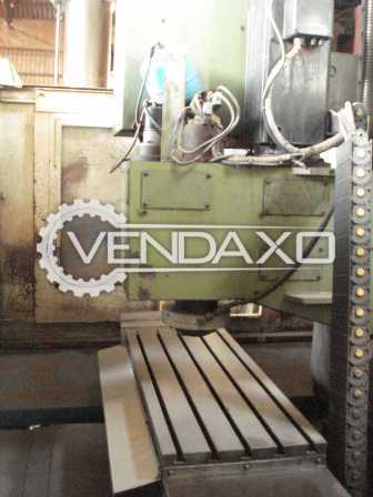 Indian Make CNC Vertical Machining Center - VMC - Table Size : 1200 x 450 mm