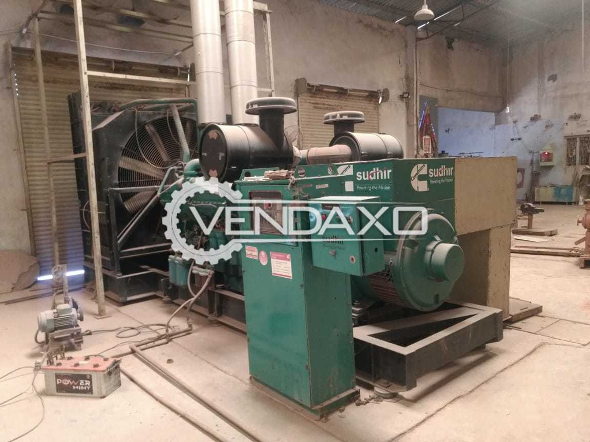 Cummins Diesel Generator - 1010 kVA