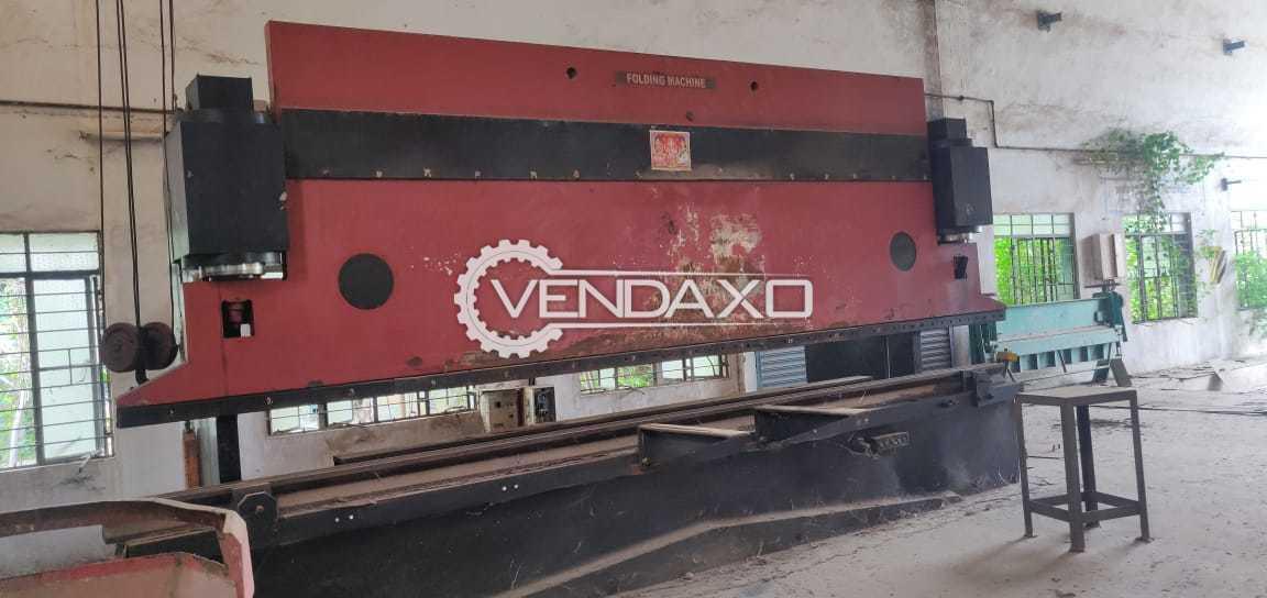 Jiangsu Yangli Make Press Brake Machine - Capacity : 6 meter x 14 mm