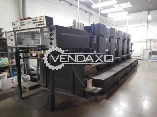 Heidelberg SM 72F Offset Printing Machine - 20 x 28 Inch, 5 Color