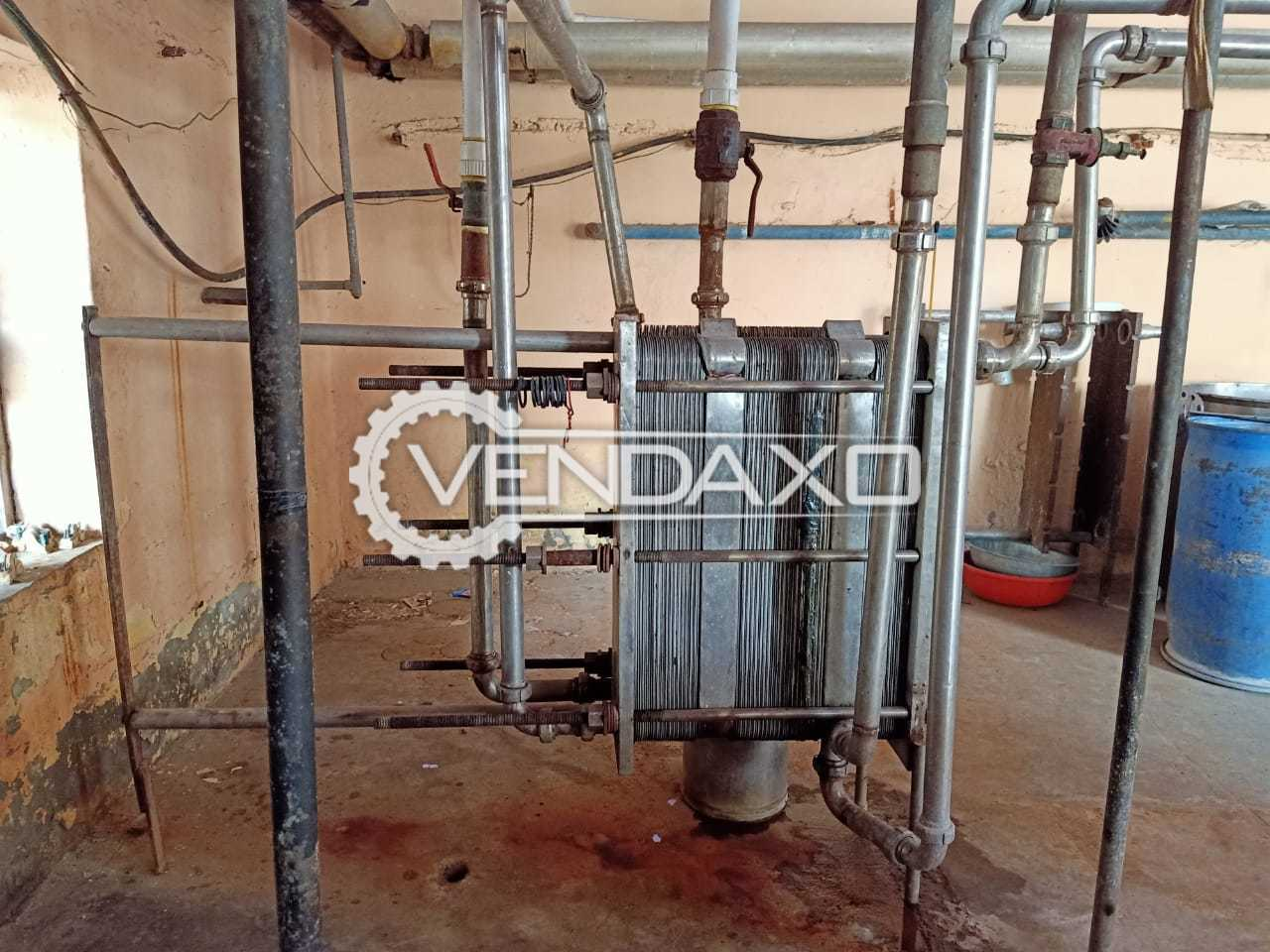 Available For Sale Pasteurizer Milk Plant + Ice Factory (Barf-Khana)