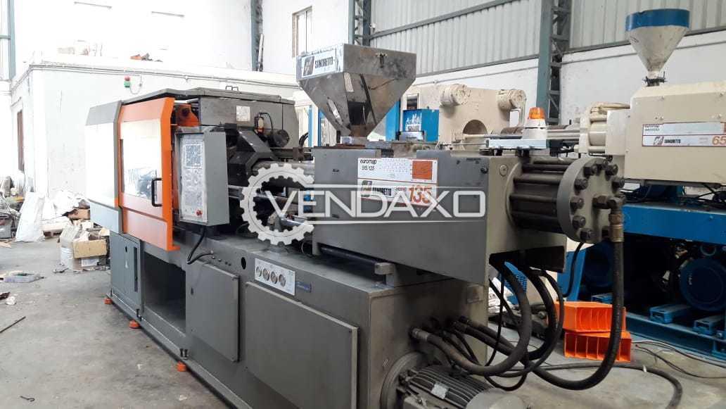SANDERTO 135T Injection Moulding Machine - 135 Ton