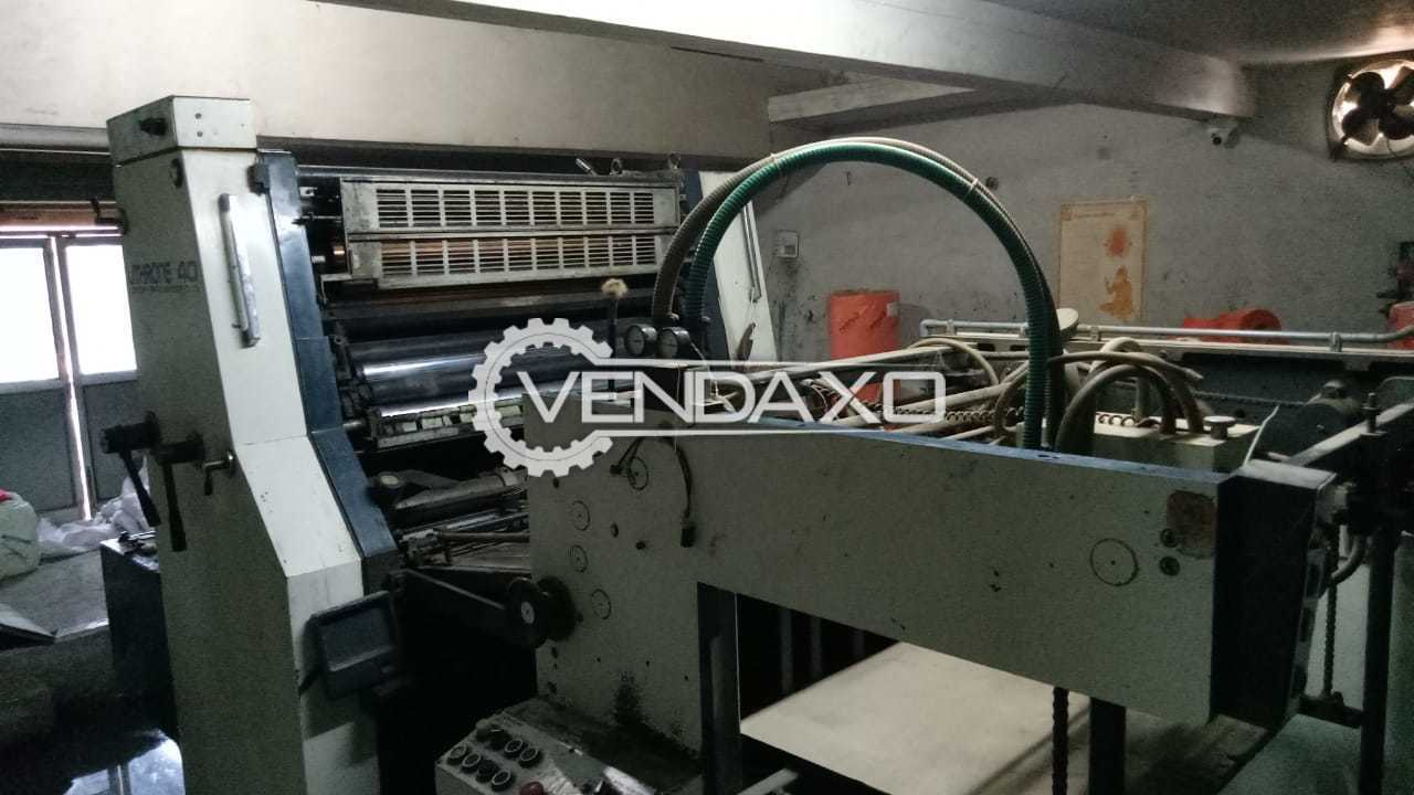 Komori Lithrone 40 Offset Printing Machine - 28 x 40 Inch, Single Color