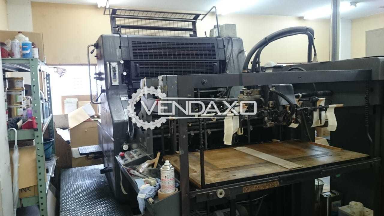 Heidelberg SORS Offset Printing Machine - 28 x 40 Inch, Single Color