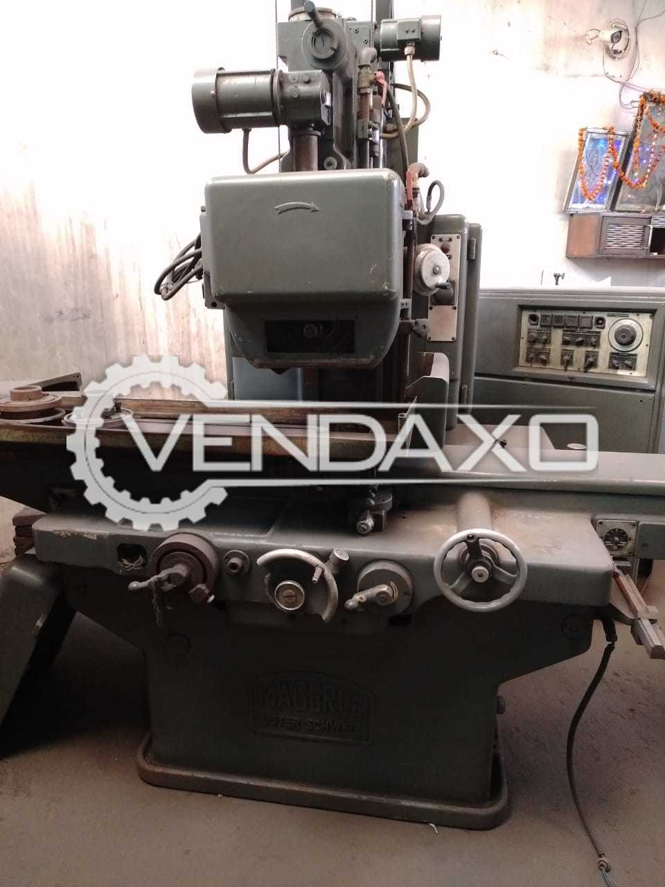 Magerle Make Surface Grinding Machine - Table Size : 1000 x 300 mm