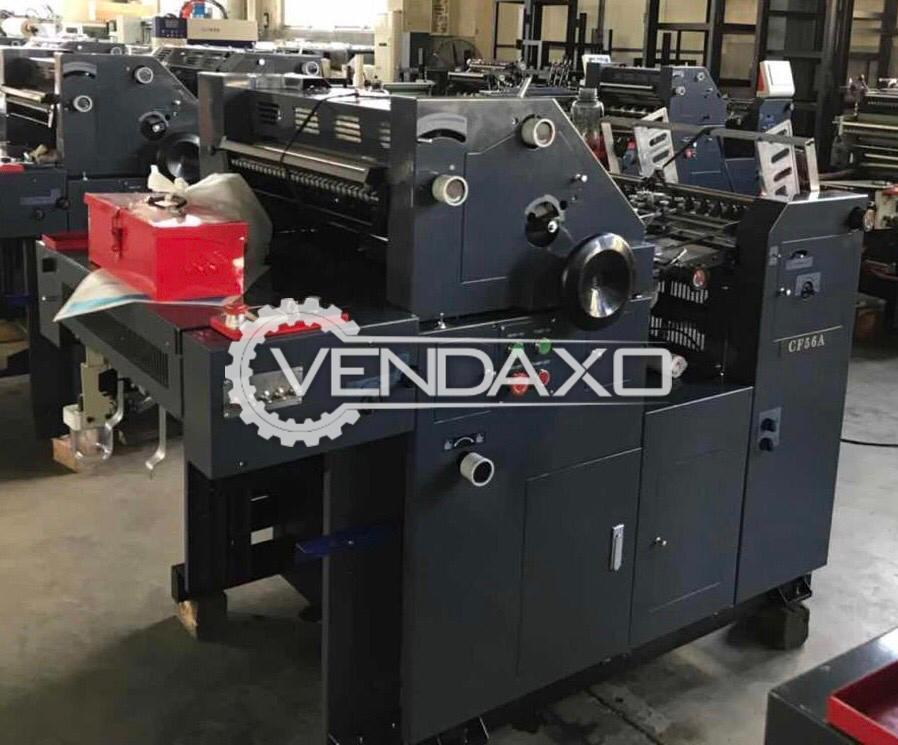 Hamada D56 Non Woven Bag Printing Machine - 16 x 22 Inch, Single Color