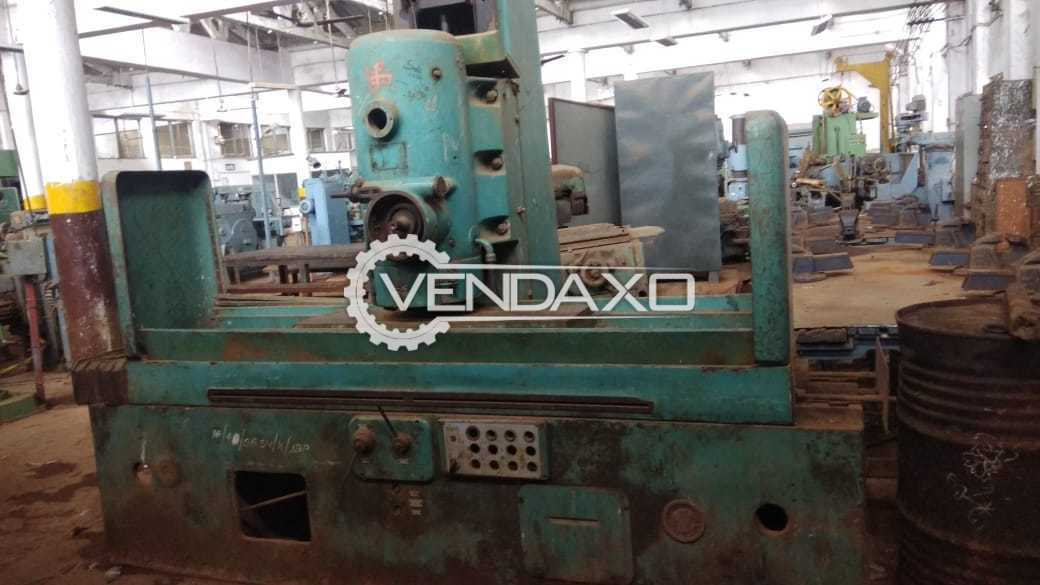 Indian Make Cup Grinding Machine - Table Size : 1000 x 300 mm