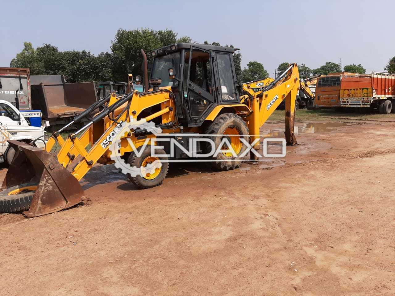 Escorts JCB Digmax II Backhoe Loader - Power - 76 HP