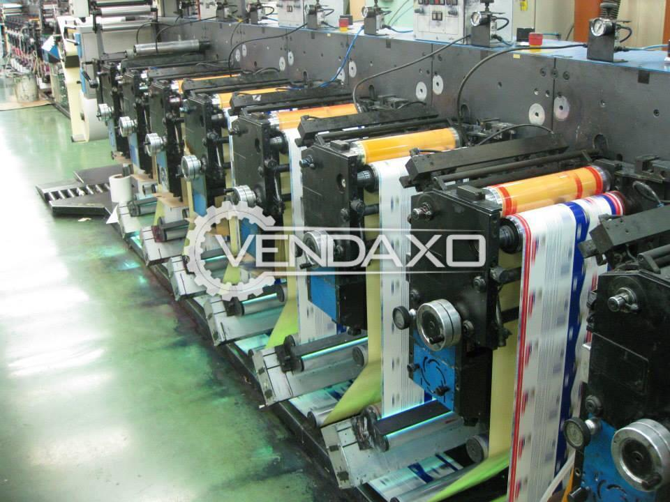 Gallus EM 280 Flexo Printing Machine - Web Width - 280 mm, 2005 Model