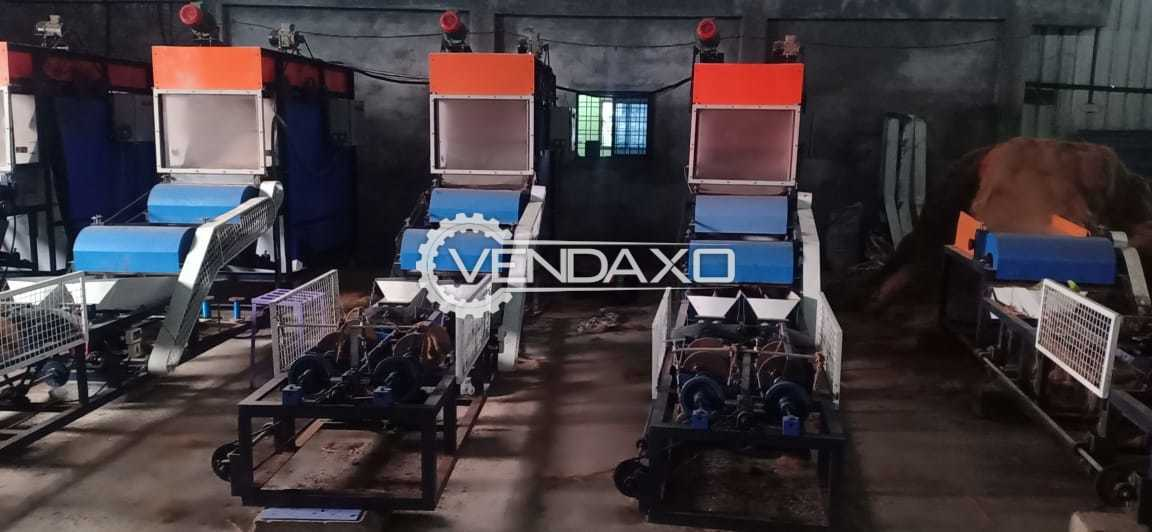 Available For Sale Fully Automatic Rope Making Machine - 70 kg rope Par hour