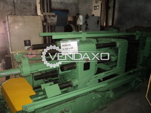 Buhler H 250 D2P Pressure Die Casting Machines (PDC) - 5900 X 1600 X 2000
