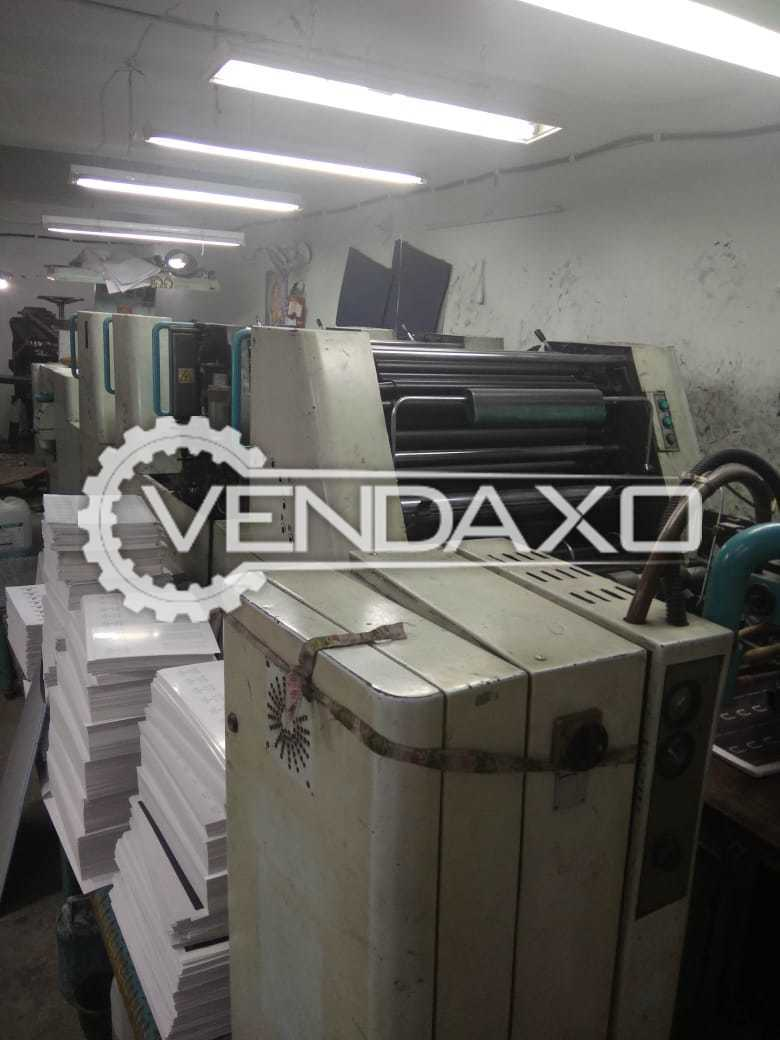 Polly 466 Offset Printing Machine - 19 x 26 Inch, 4 Color