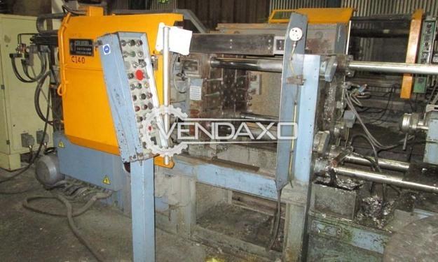 Colosio PFO 140 Pressure Die Casting Machines (PDC)