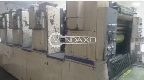 Shinohara 52 Offset Printing Machine - 15 X 20 Inch, 4 Color