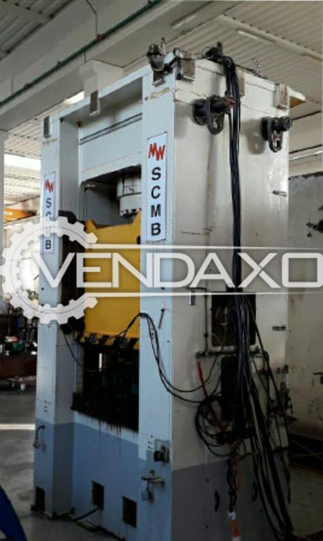 Muller-Weingarten Make Hydraulic Sheet Metal Press Machine - Capacity : 500 Ton