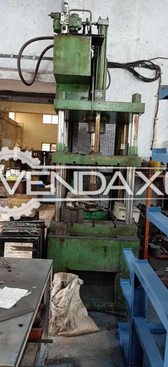 Indian Make Hydraulic Press Machine - 50 Ton