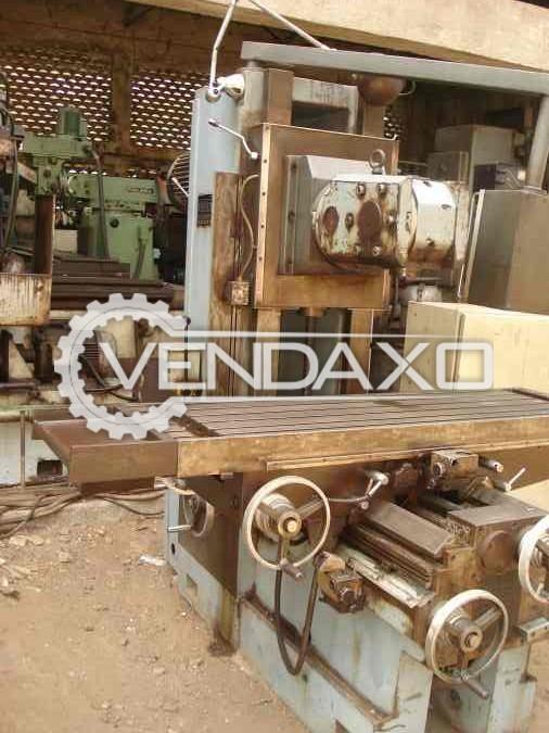 ALCERA GAMBIN AU 304 Universal MIlling Machine - Table Size - 400 X 1600 mm