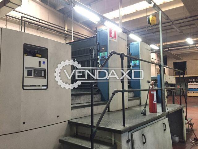 KBA Rapida 162-2 SW Offset Printing Machine - 110 x 162 CM, 2 Color