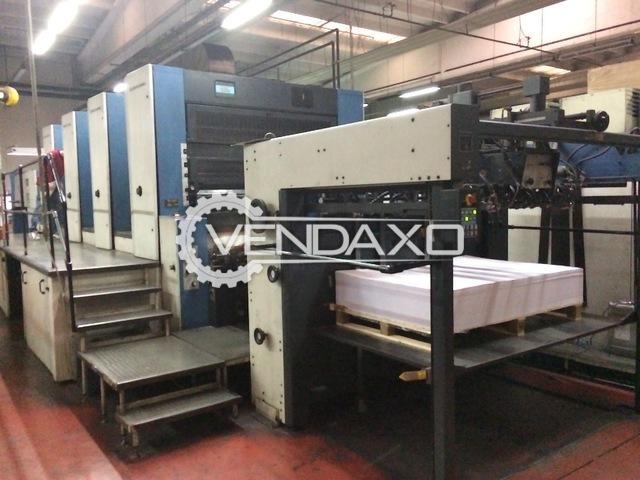 KBA Rapida 162 4 SW2 Offset Printing Machine - 110 x 162 CM, 4 Color