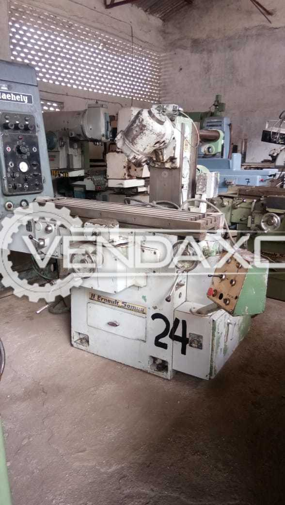 H.Ernault Somua Universal Milling Machine - Table Size - 1200 X 300 mm