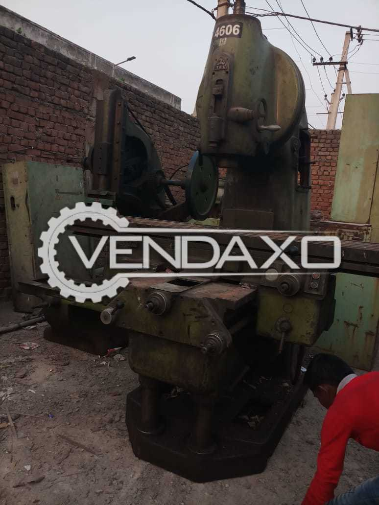 TOS Make Milling Machine - Table Size : 2000 x 550 mm